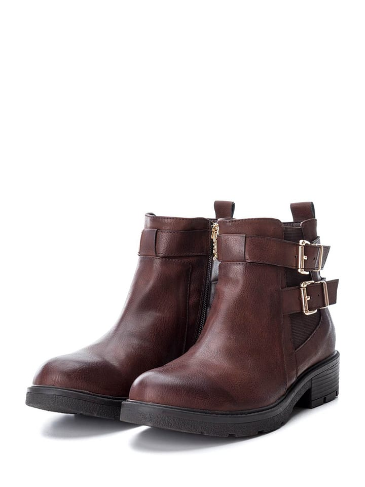 Xti Ankle-Boots in Braun