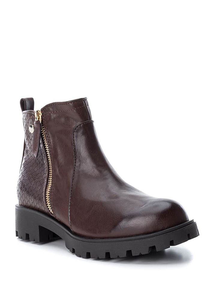 Xti Chelsea-Boots in Braun - 55%