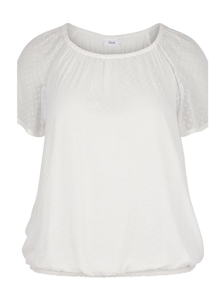 Zizzi Shirt in Weiß