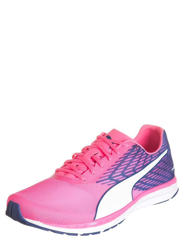 """Puma Laufschuhe """"Speed 100 R Ignite"""" in Pink/ Blau"""