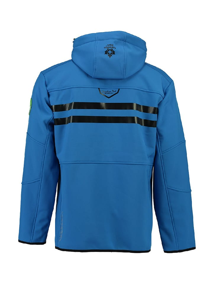 "Canadian Peak Softshelljacke ""Tubis"" in Blau"