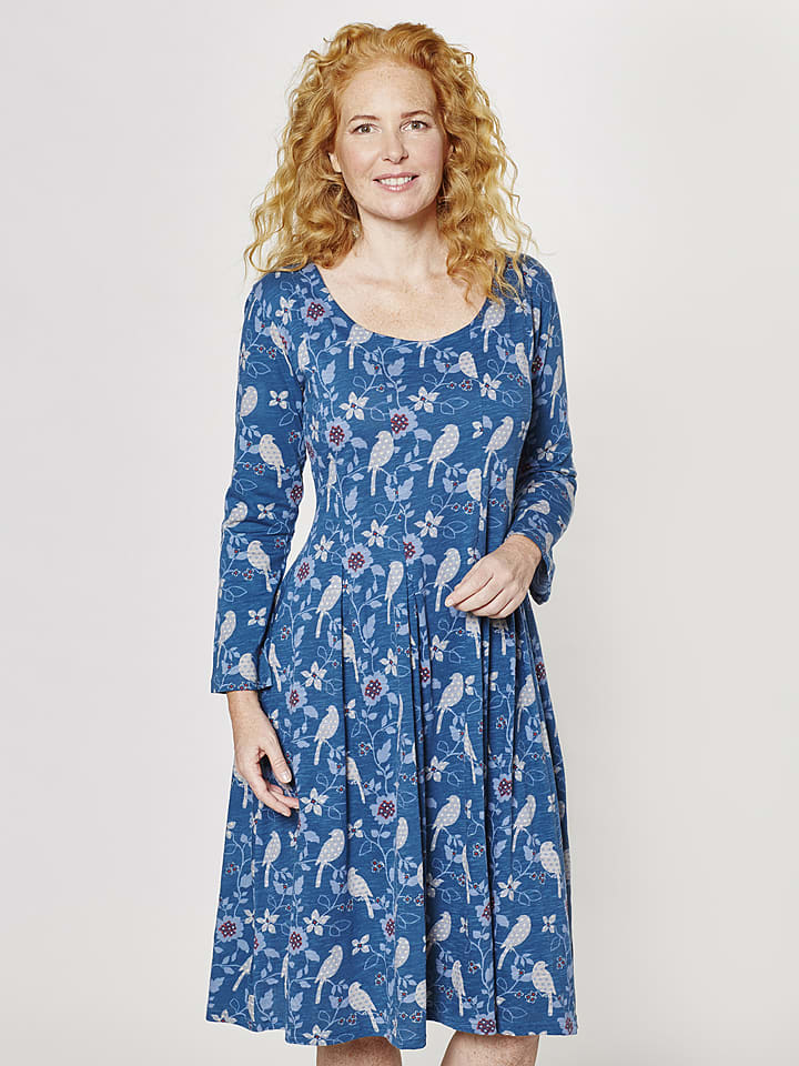 """Deerberg Kleid """"Juliette"""" in Blau"""
