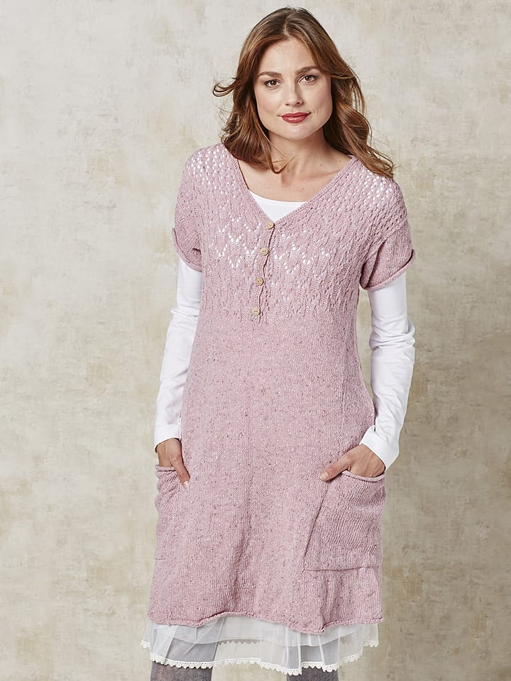 "Deerberg Wollkleid ""Petke"" in Rosa"