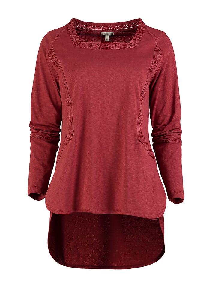 """Deerberg Shirt """"Judith"""" in Rot"""