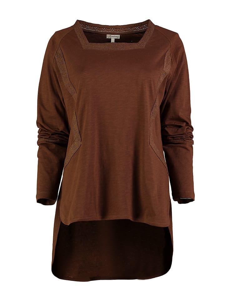 "Deerberg Shirt ""Judith"" in Braun"