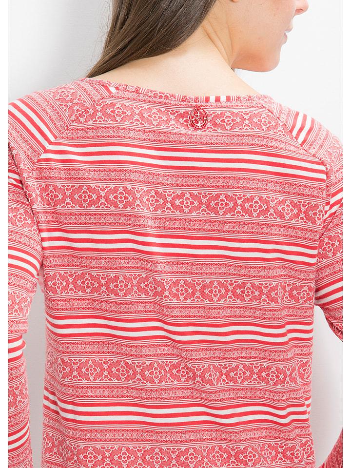 """Blutsgeschwister Sweatshirt """"Buttje Buttje"""" in Rot"""
