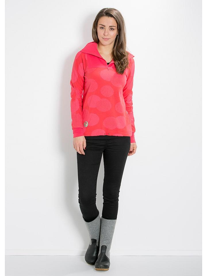 "Blutsgeschwister Sweatshirt ""Cool Catfish"" in Fuchsia"