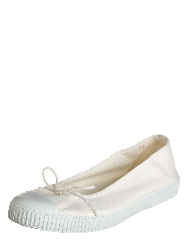 "Chipie Ballerinas ""Salsa"" in Creme"