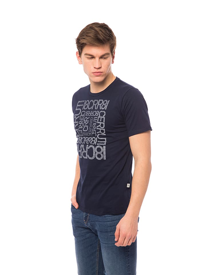 Cerruti Shirt in Dunkelblau