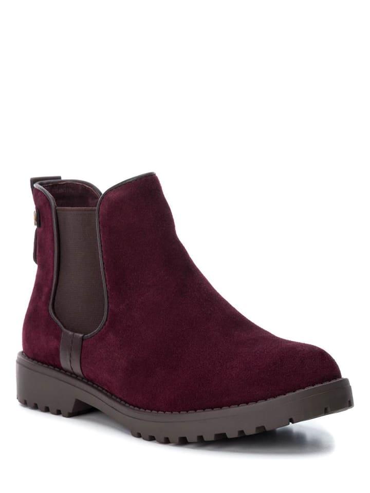 CARMELA Leder-Chelsea-Boots in Camel - 52% enQ00ohk