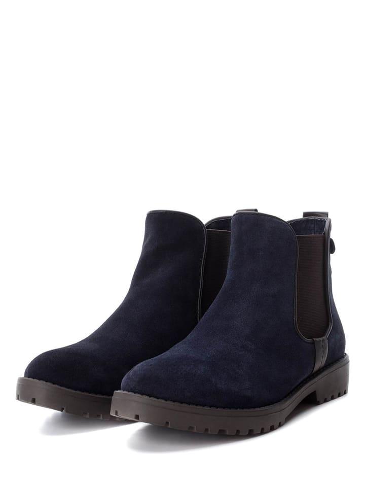 CARMELA Leder-Chelsea-Boots in Dunkelbraun - 54% JUTgp0