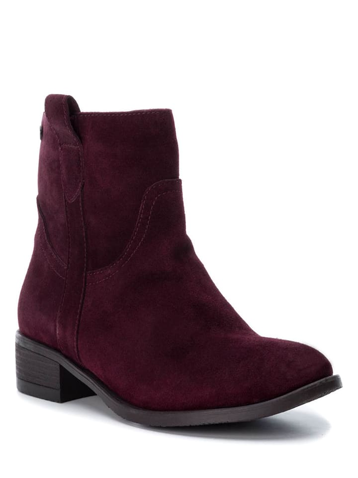 CARMELA Leder-Boots in Bordeaux - 57% wMSobLpyvH