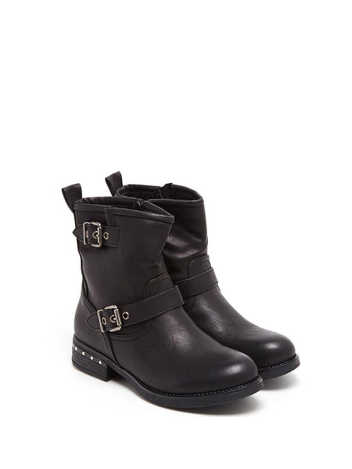 Sixth Sens Boots in Schwarz