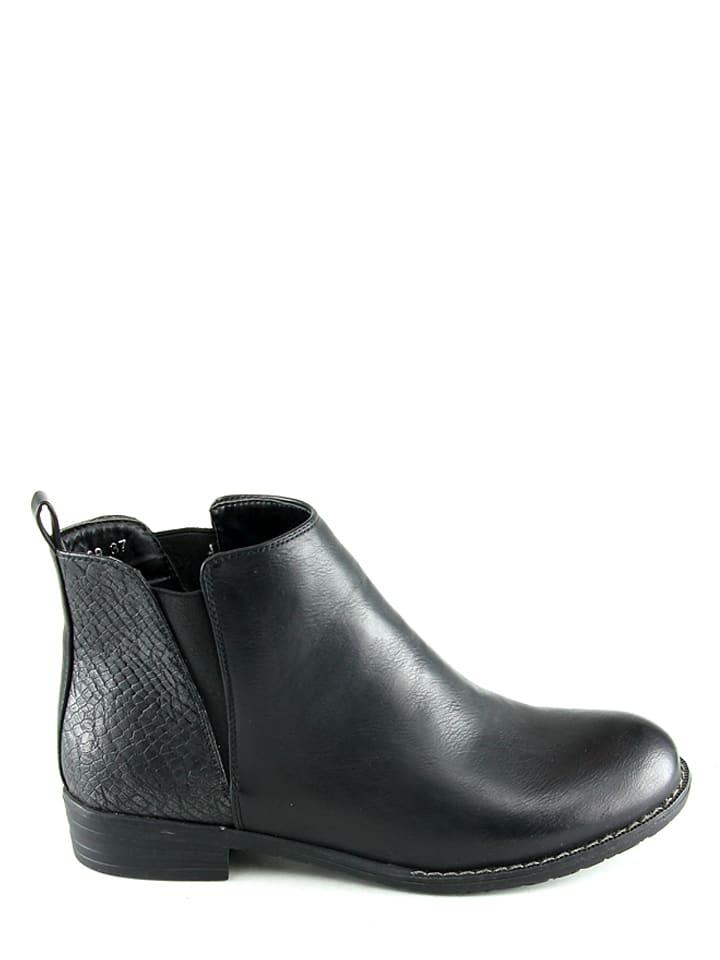 Sixth Sens Chelsea-Boots in Schwarz