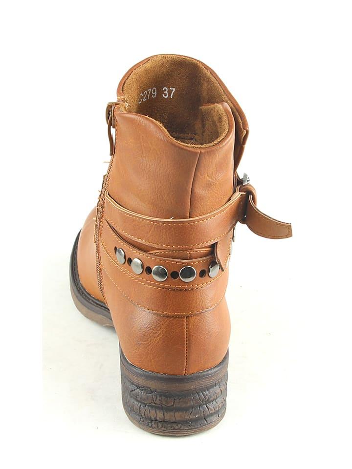Sixth Sens Boots in Hellbraun