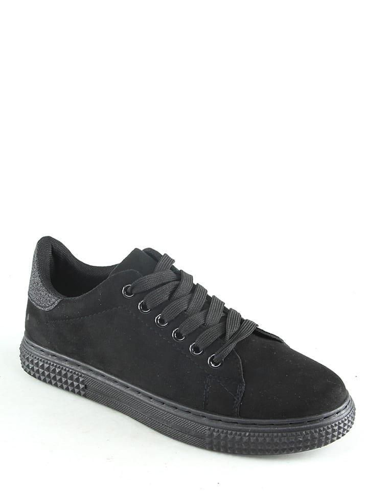 Sixth Sens Sneakers in Schwarz