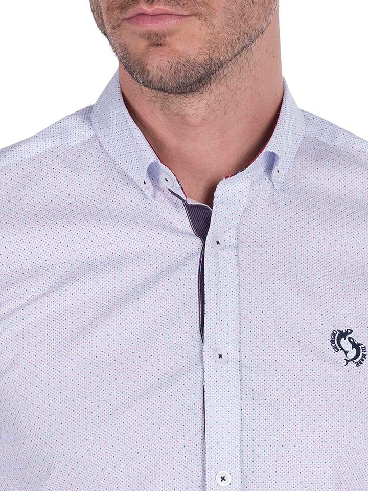 GIORGIO DI MARE Hemd in Weiß