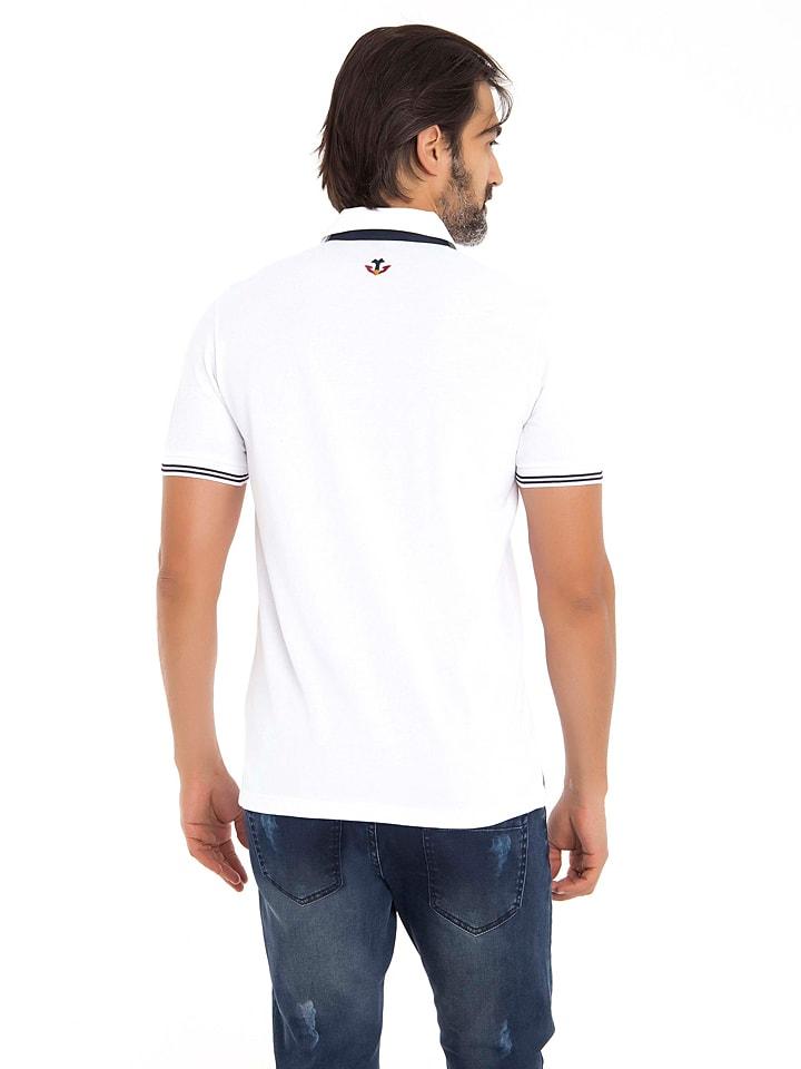 GIORGIO DI MARE Poloshirt in Weiß