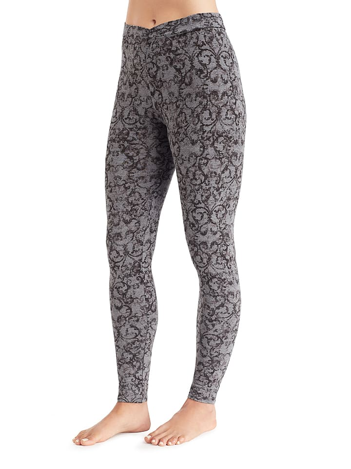 "Cuddl Duds Leggings ""Softwear"" in Grau/ Anthrazit"
