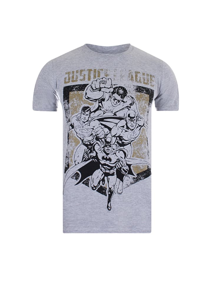 "DC Comics Shirt ""Justice League"" in Grau"