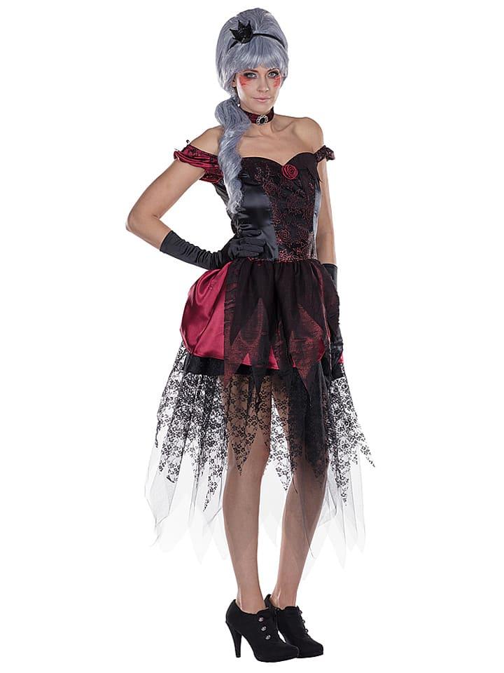 """Rubie`s 2tlg. Kostüm """"Dark Princess"""" in Schwarz/ Rot"""