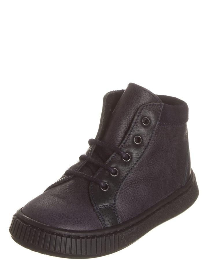 Kmins Leder-Sneakers in Dunkelblau - 58% YNuwEx4R3T