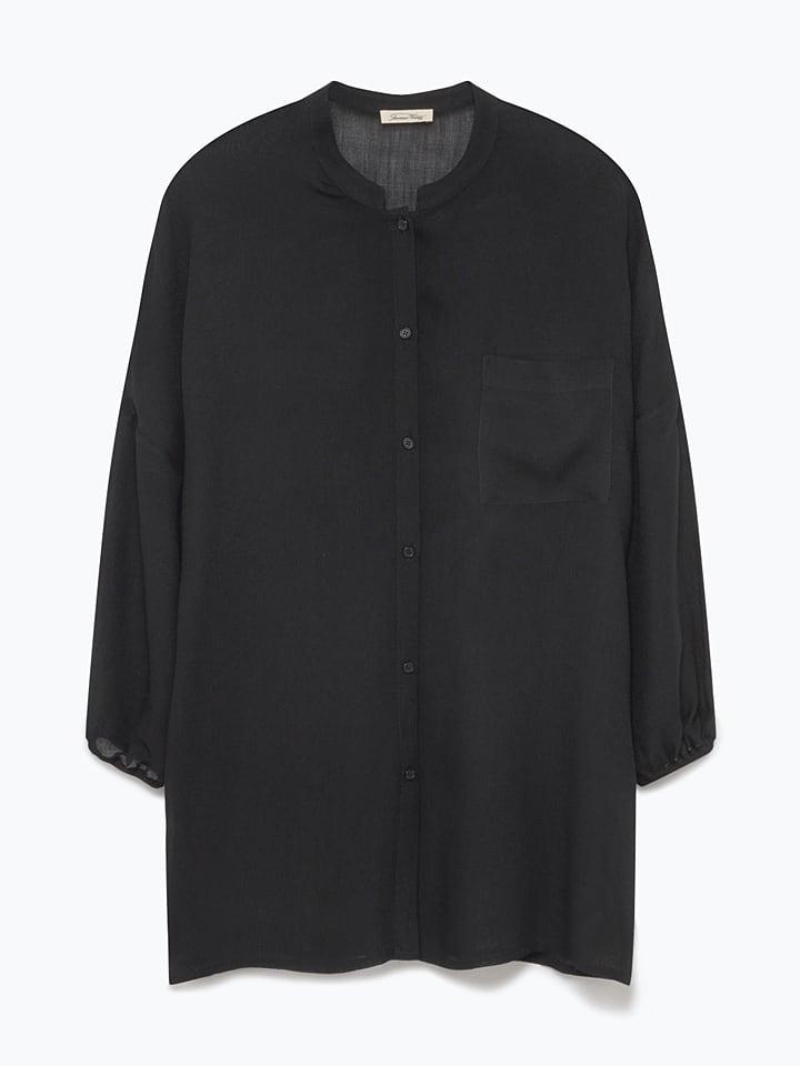 American Vintage Bluse in Schwarz