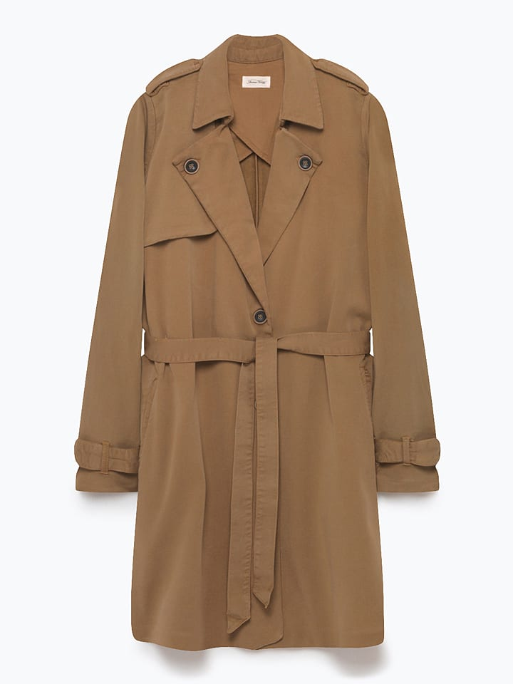 American Vintage Trenchcoat in Braun