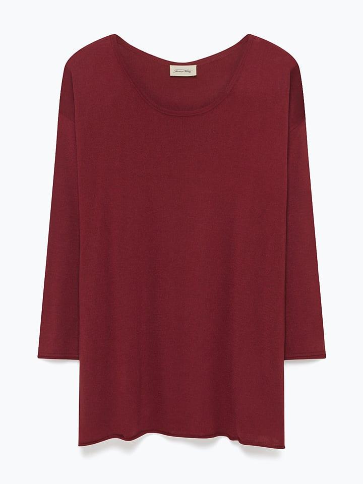 American Vintage Pullover in Bordeaux