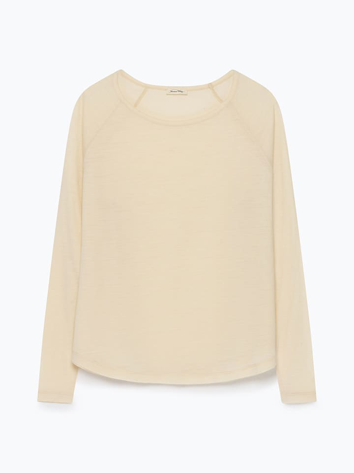 American Vintage Pullover in Creme