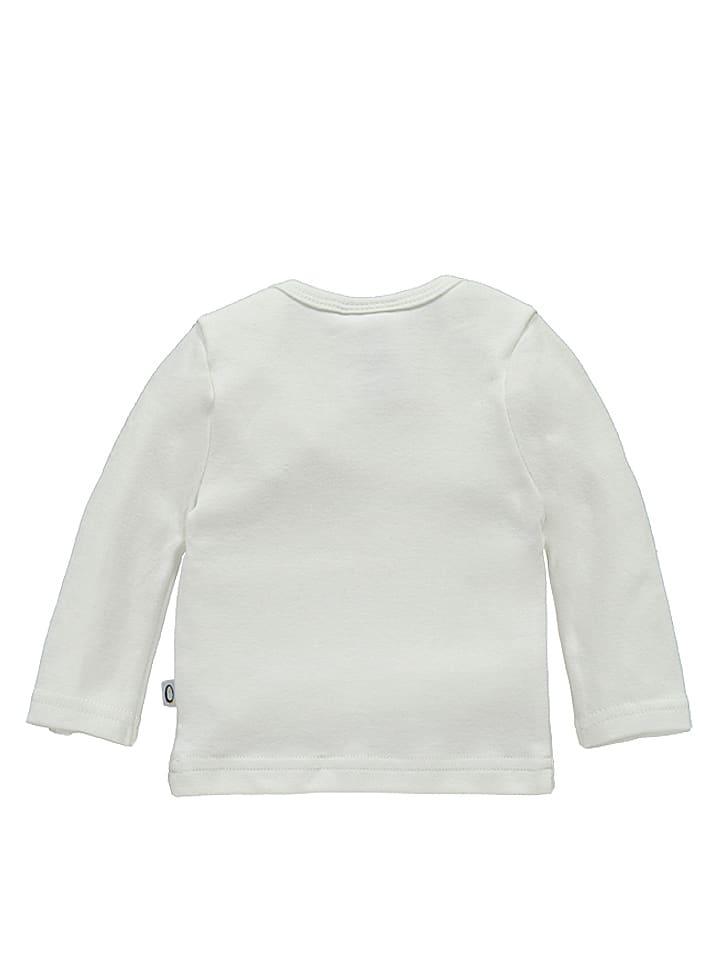 Lamino Longsleeve Einhorn in Weiß