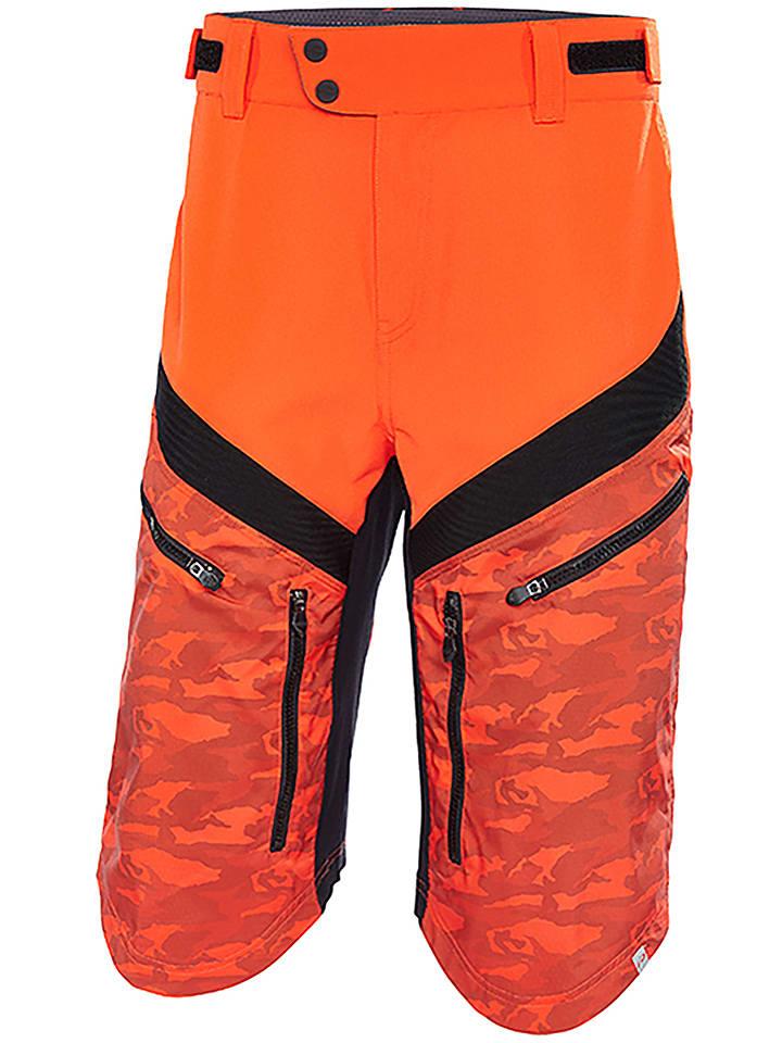 "Protective Fahrradshorts ""Aru"" in Orange/ Schwarz"