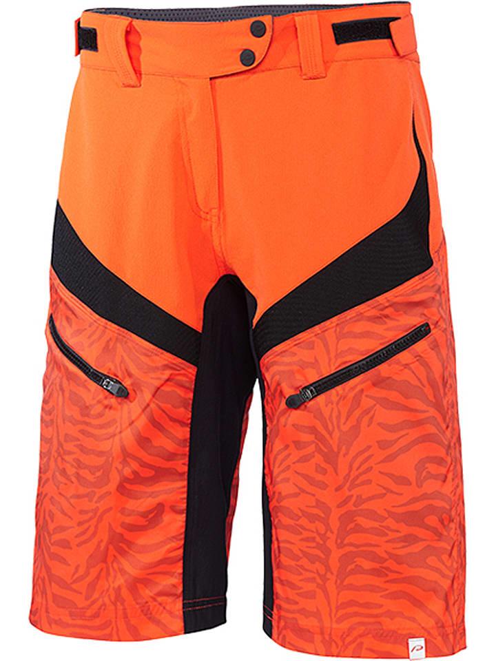 "Protective Fahrradshorts ""Icana"" in Orange/ Schwarz"