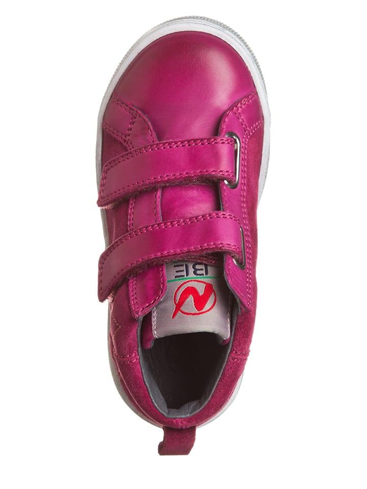 Naturino Leder-Sneakers in Pink