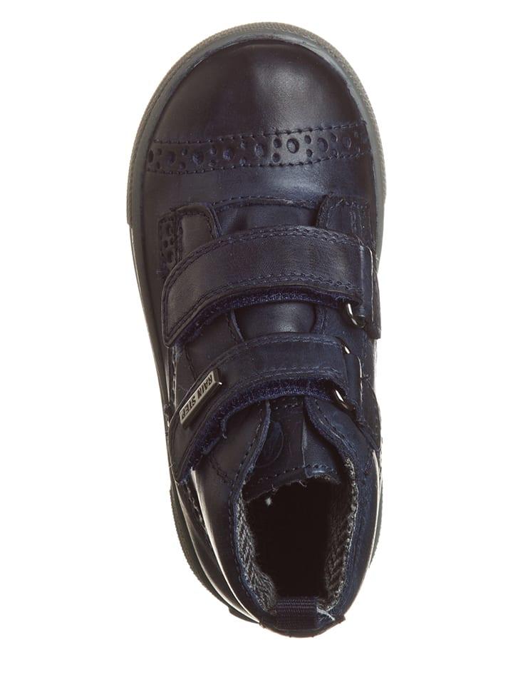 Naturino Leder-Sneakers Vran in Dunkelblau