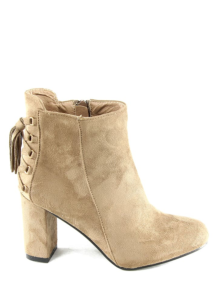 Chc Shoes Stiefeletten in Beige - 65% vfF04