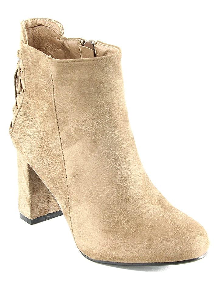 Chc Shoes Stiefeletten in Beige - 65% IUhDNzHmp0