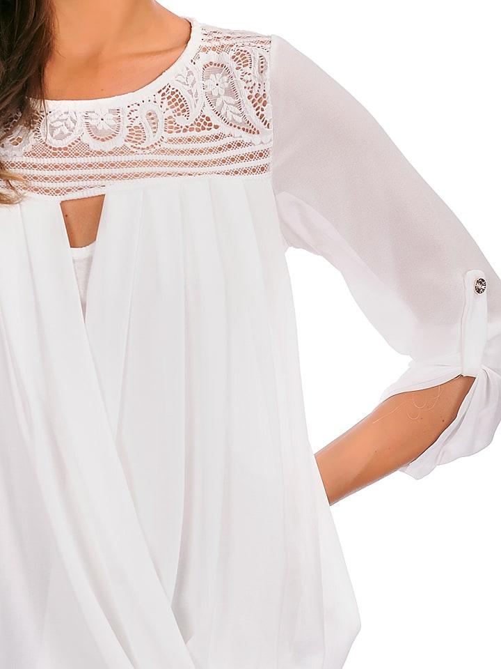 """Jo & Jil Shirt """"Alice"""" in Weiß"""