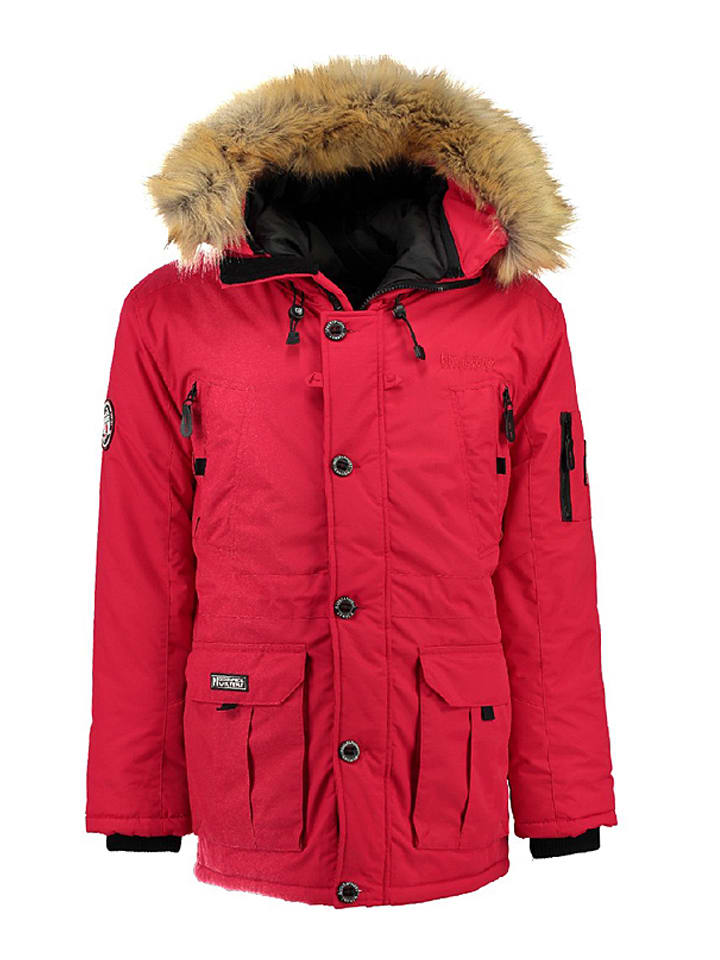 "Geographical Norway Winterjacke ""Booster"" in Rot"