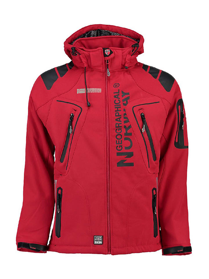 """Geographical Norway Softshelljacke """"Taco"""" in Rot"""