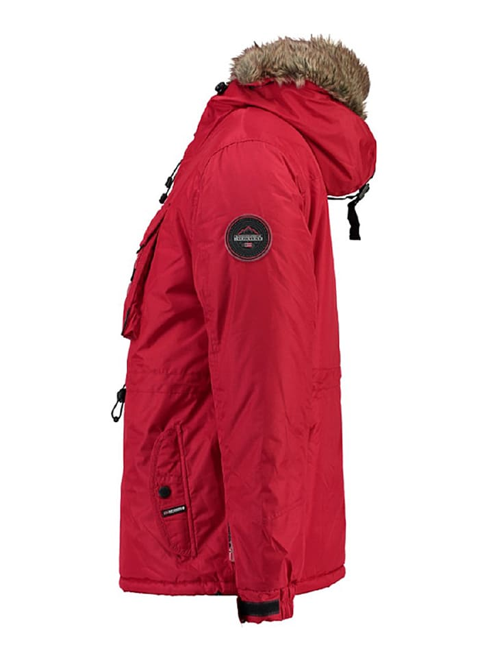 """Geographical Norway Winterjacke """"Biblos"""" in Rot"""