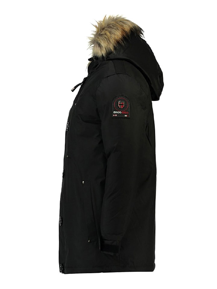 "Geographical Norway Winterjacke ""Agada"" in Schwarz"
