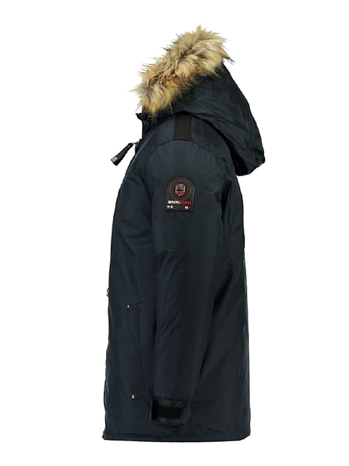 "Geographical Norway Winterjacke ""Agada"" in Dunkelblau"