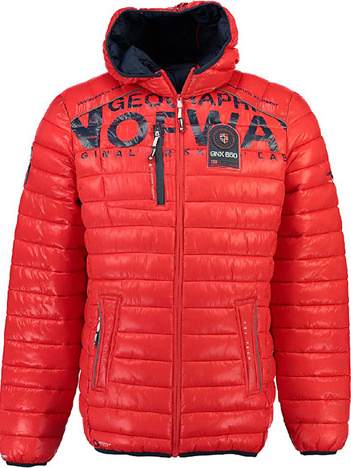 """Geographical Norway Übergangsjacke """"Budapest"""" in Rot"""