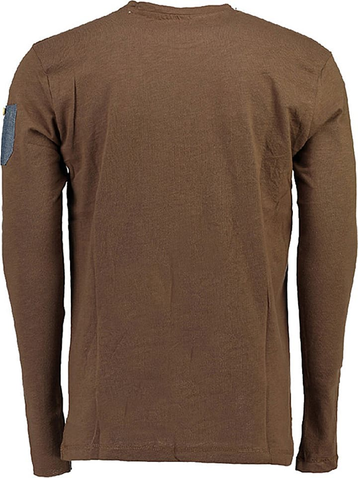 "Geographical Norway Longsleeve ""Jarbone"" in Taupe"