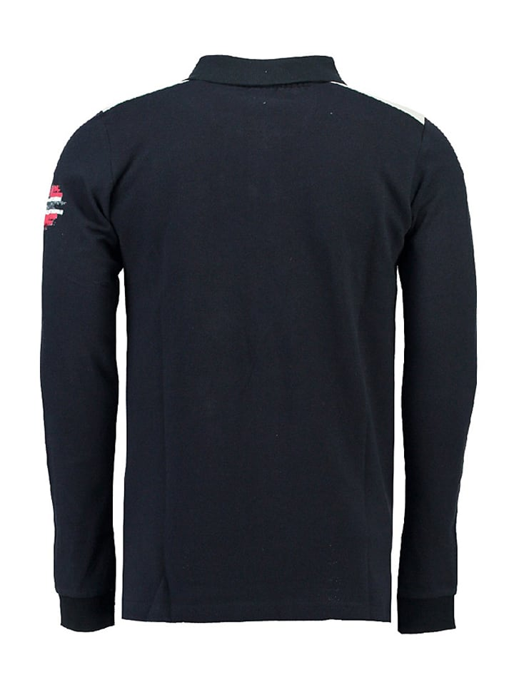 "Geographical Norway Poloshirt ""Kriminel"" in Dunkelblau"