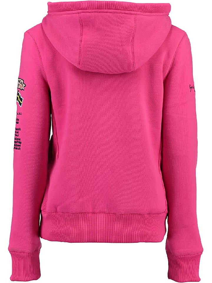 "Geographical Norway Sweatshirt ""Gymclass"" in Pink"