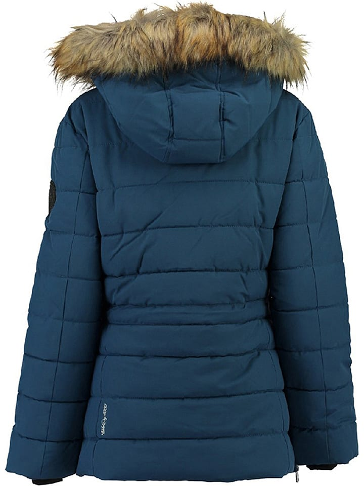 "Geographical Norway Parka ""Bevakasha"" in Blau"