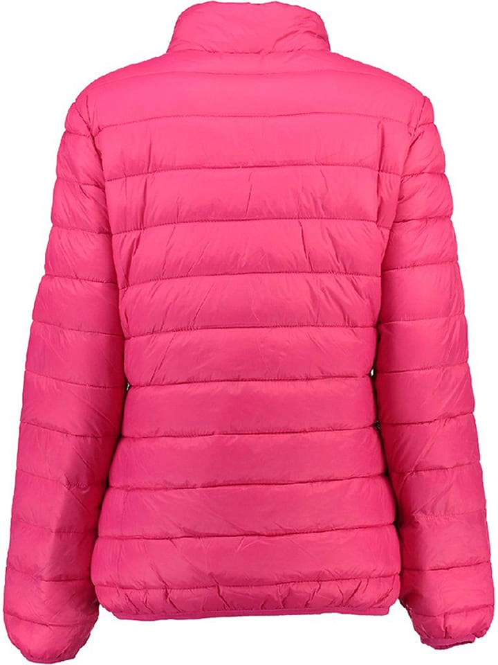 Geographical Norway Übergangsjacke Abecedaire in Fuchsia