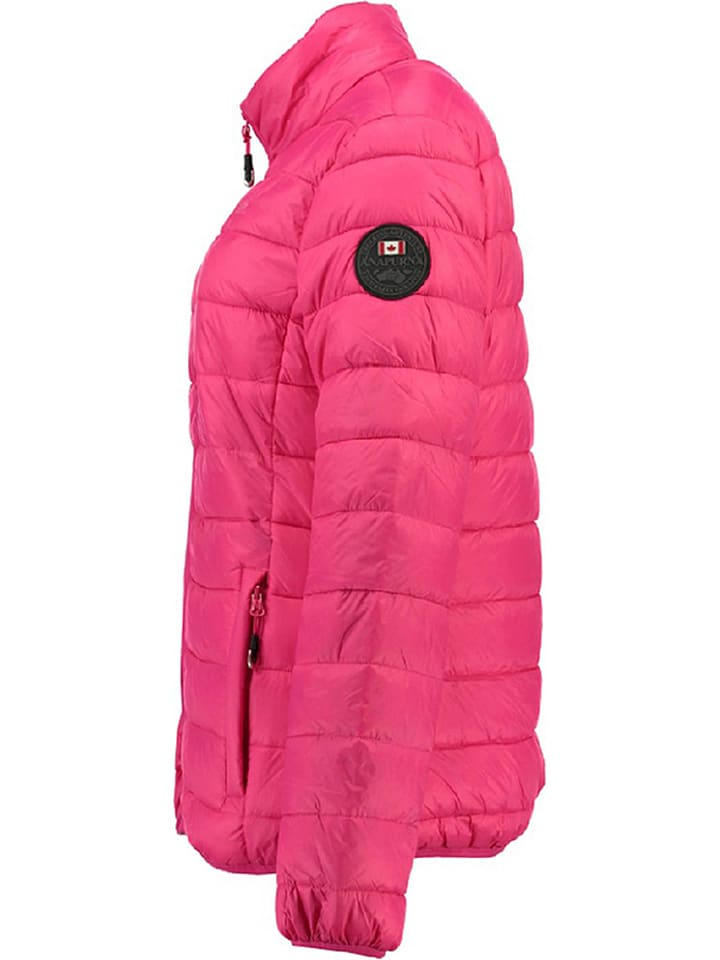 "Geographical Norway Übergangsjacke ""Abecedaire"" in Fuchsia"